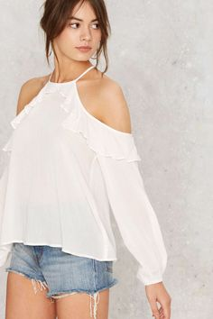 Andrea Cold Shoulder Top | Shop Clothes at Nasty Gal!