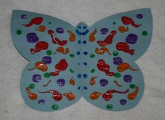 folding paper butterfly craft