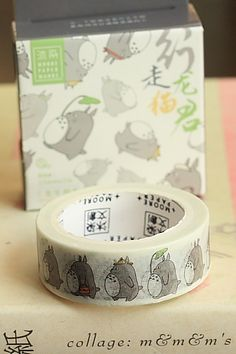 This is really cute self-adhesive masking paper tape, perfect for scrapbooking, decoration, planner …