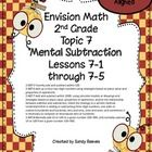 This 79 page unit is filled with games, posters, worksheets, printables, centers and more to make teaching Envision Math easier for you! See table ...