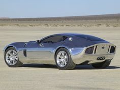 2005 Ford Shelby GR-1 Concept with Aluminum Body - Rear & Side - 1280x960 Wallpaper