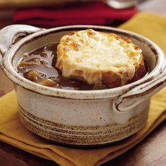 Slow Cooker French Onion Soup Recipe 2 | Just A Pinch Recipes