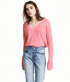 V-neck Sweater | Pink | Women | H&M US