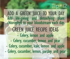 Fantastic and Helpful Juicing Strategies For Green Juicing Recipes Tips Healthy Juices, Healthy Smoothies, Healthy Drinks, Smoothie Recipes, Green Smoothies, Healthy Foods, Green Juice Recipes, Raw Food Recipes, Drink Recipes