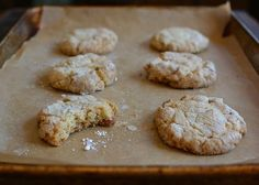 Almond Cookies from