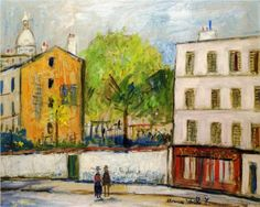 Street in Montmartre - Maurice Utrillo, unknown date