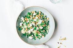 One pot: Groene couscous met feta