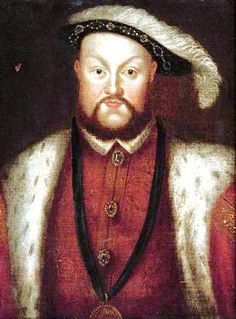 """""""Painting of King Henry VIII by Hans Holbein the Younger."""" After Holbein, yes. Circle of Holbein, yes. But I'll eat my hat if this is by the master himself. of holbein Caspar David Friedrich, Tudor History, British History, Art History, Heinrich Viii, Carl Spitzweg, Hans Holbein The Younger, Tudor Era, Tudor Style"""