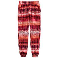 Mudd Tribal Print Challis Pants - $20.99