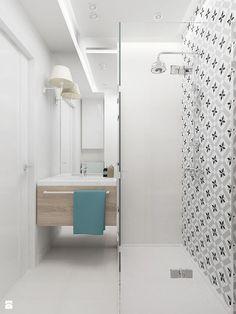 Afbeeldingsresultaat voor calvet gris in badkamer Small Shower Room, Small Showers, Shower Rooms, Metroid, Laundry In Bathroom, Malaga, Bathtub, Flooring, Storage