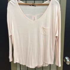Blush dolman Super cute and light weight American Eagle Outfitters Tops Tees - Long Sleeve