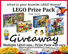 Here We Go Again, Ready?: LEGO Prize Pack #Giveaway