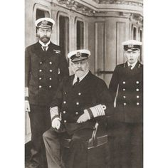 From Left Prince Of Wales Later King George V King Edward Vii Seated And Prince Edward Later Edward Viii George V George Frederick Ernest Albert 1865 Canvas Art - Ken Welsh Design Pics x King Edward Vii, House Of Windsor, Prince Edward, Prince Of Wales, King George, The Twenties, Royal Royal, Canvas Art, Titanic