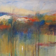 """Linda James """"Put Every Tree in the Forest in the Choir"""" 42x42 [unavailable]"""