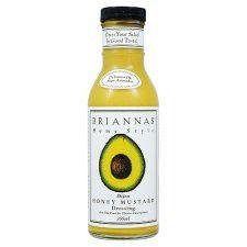 Briannas Honey Mustard Dressing 355ml
