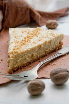 Eggnog Cheesecake tart~