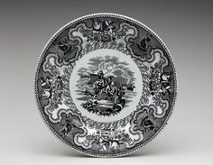 Plate, ca. 1853-56 | The Museum of Fine Arts, Houston