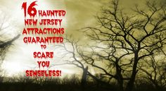 A Complete Guide To Scary Haunted Hayrides, Zombie Walks, & Haunted Houses In New Jersey - Looking for scary things to do in New Jersey this Halloween? I've scoured the state to find the most terrifying haunted houses in New Jersey! Read on to find the scariest haunted houses in North, Central, and South Jersey as well as other fiendishly frightening haunted attractions such as haunted hayrides, zombie walks, haunted asylums, escape rooms, and more!