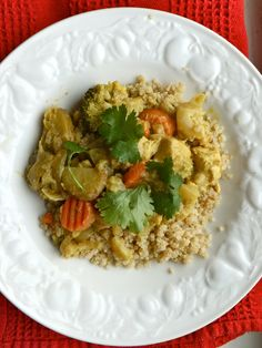 Chicken Coconut Curry #curry #recipe #healthy