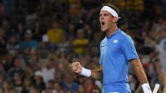 Del Potro cala torcida, vence e faz Djokovic chorar no Parque Olímpico