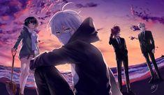 Manga Anime, Anime Chibi, Anime Guys, Anime Watch, Chibi Couple, Art Of Love, Anime Scenery, Amazing Art, Canvas Art