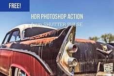 Strong HDR Photoshop Action