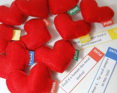 Kit Surpresa LOVE [10 Corações com Msgs]