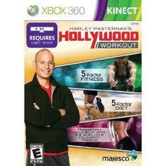Harley Pasternak's Hollywood Workout (Kinect) --- http://www.amazon.com/Harley-Pasternaks-Hollywood-Workout-Xbox-360/dp/B008E6ZXTK/?tag=jayb4903-20