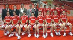 Ciclismo do SLBenfica em 2007, que contava, entre outros, com José Azevedo e Rui Costa.