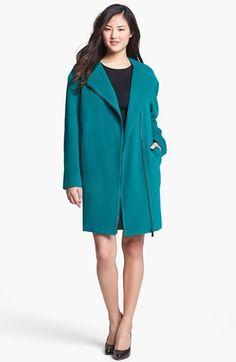 Vince Camuto Flannel Topper in emerald