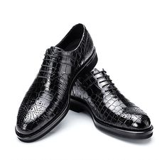 Shoes Diligent Men Black Patent Leather Dress Shoes 11 Lace Up Oxfords Cow Skin Italy Wedding Genuine Plus Size Brand Italian European Prom