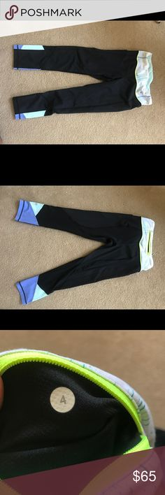 Lululemon Pace Rival Crop Great condition, size 4 lululemon athletica Pants Leggings