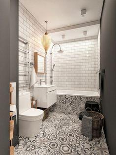 36 Trendy Bathroom Shower Tile Design Walk In Layout Best Bathroom Tiles, Diy Bathroom, Eclectic Bathroom, Bathroom Wallpaper, Bathroom Flooring, Bathroom Interior, Bathroom Ideas, Master Bathroom, Master Closet