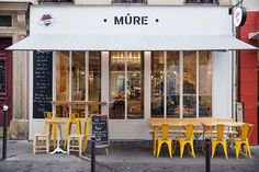 "Restaurant "" Mûre"" - T design architecture"