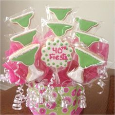 Cookie bouquet Love these