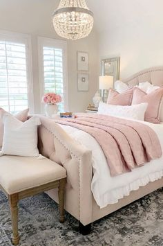 Cute and Modern Bedroom Interior Design Ideas 2018 Part bedroom ideas; bedroom ideas for small room; Guest Bedroom Decor, Cute Bedroom Ideas, Room Ideas Bedroom, Small Room Bedroom, Small Rooms, Dream Bedroom, Home Bedroom, Modern Bedroom, Master Bedroom