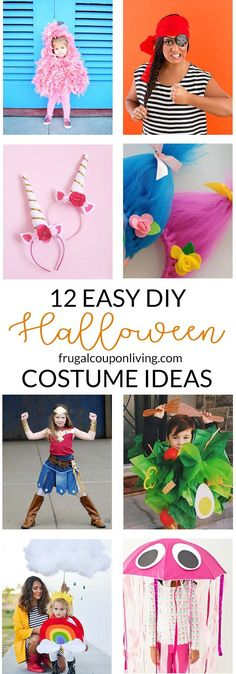 Best Diy Crafts Ideas For Your Home     Have you wanted to try and make your Halloween costume or a least part of it? Here some super cute and easy DIY Halloween costume ideas for your family. 12 Easy DIY Halloween Costume Ideas for Everyone on Frugal Coupon Living.    -Read More –