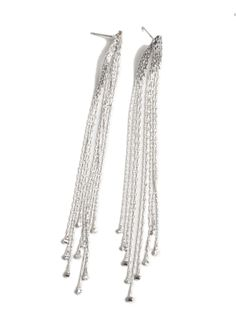 Bagatelle Aretes largos con flecos finos vintage #Pendientes #JockeyPlaza #Estilo #Online #Shopping
