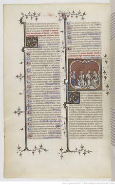 Grandes Chroniques de France. Date d'édition : 1375-1380 15v