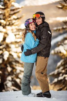 Engagement Photos in #Vail #Colorado