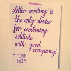 Oh Lord Byron!