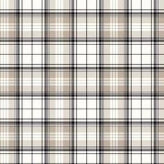 Plaid Wallpaper - BC1580743 from Design by Color/Black and White book
