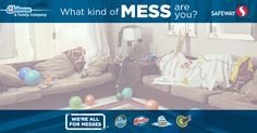 What type of Mess are you? Take the quiz and get a coupon.