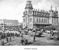 Market Scene, Barrie