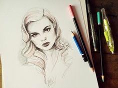 belos-rostos-femininos-ilustracoes-katarzyna-kozlowska-7