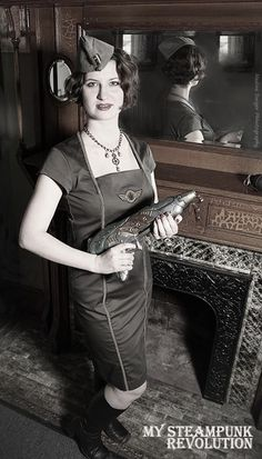 Ad for our upcoming dieselpunk collection. For more details visit our facebook page (facebook.com/MySteampunkRevolution)    Photography by : Nadine Swiger