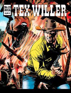 Tex Willer -lehti no 13/2014. #sarjakuva #sarjis #sarjakuvalehti #egmont