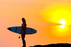 surfin on sunseT