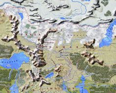 20 Best Faerûn Maps images in 2017 | Forgotten realms, Maps, Fantasy map
