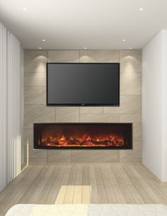 Landscape FullView Series by Modern Flames - This is the most realistic to me. Closest distributor in Concord, NC.